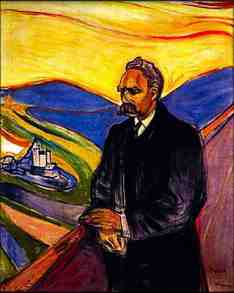 Nietzsche by Edvard Munch