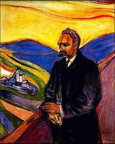 Nietzsche by Edvard Munch