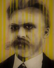 Nietzsche Portrait by Ray Monde
