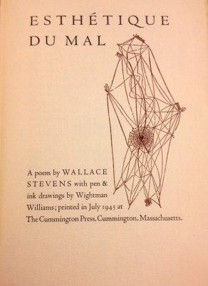 Wallace Stevens' Esthetique Du Mal (1947)