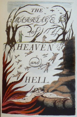 William Blake, Marriage of Heaven and Hell, Cover Page